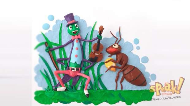 A tücsök, a hangya és az angol nyelvtanfolyam meséje