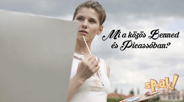Mi a közös benned és Picassóban? – Speak! angol nyelviskola