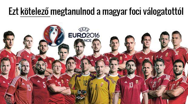 Ezt kötelező megtanulnod a magyar foci válogatottól