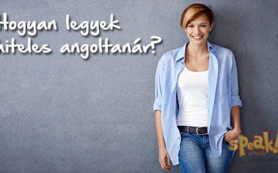 Hogyan legyek hiteles angoltanár? Pető Zsani (Speak! Nyelviskola)
