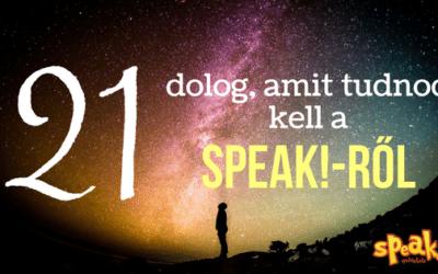 21 dolog, amit tudnod kell a Speak! Nyelviskoláról