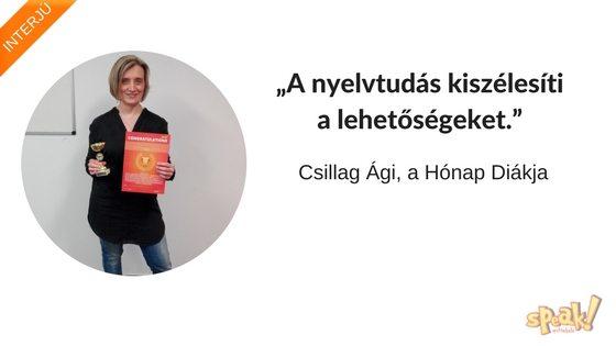 """[Interjú] """"A nyelvtudás kiszélesíti a lehetőségeket."""""""