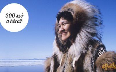 300 szó a hóra: hogyan segít egy eszkimó legenda az angoltanulásban?