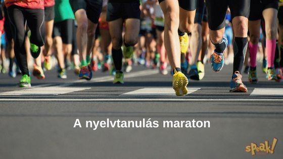 A nyelvtanulás maraton