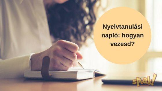 Ezért vezess nyelvtanulási naplót, ha angolul tanulsz