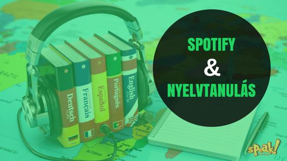 Spotify és angoltanulás