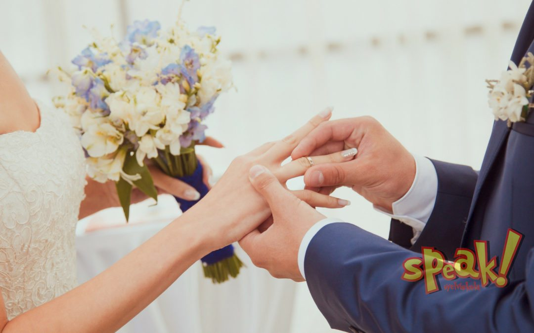 Just married: nélkülözhetetlen angol szavak esküvőszervezéshez