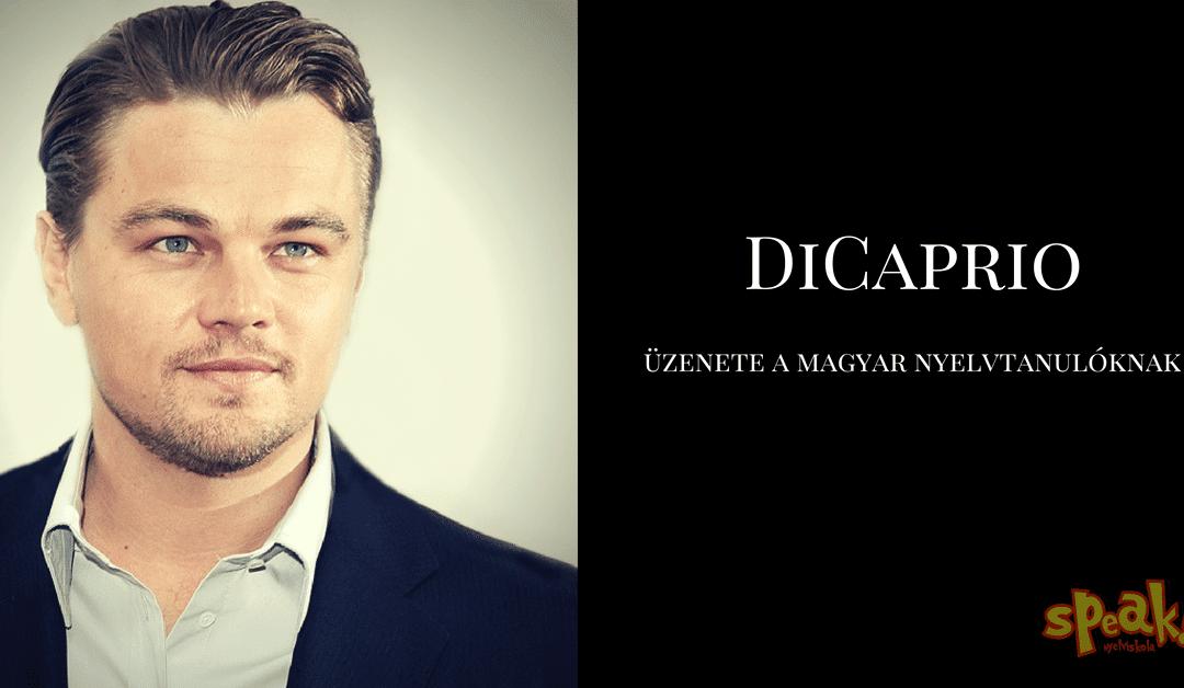 Leonardo DiCaprio üzenete a magyar nyelvtanulóknak