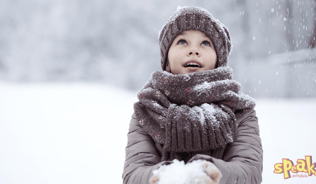 6 angol kifejezés a hóra és havazásra