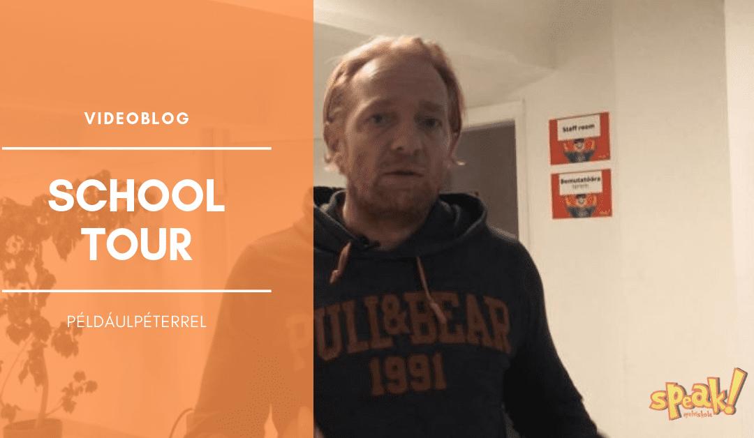 [Videóblog] SchoolTour – Végig vezetünk a Speak! angol nyelviskolán