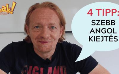 4 egyszerű tipp a szebb angol kiejtésért [Videóblog]