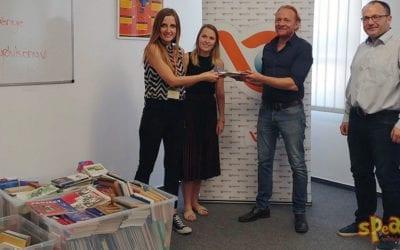Több mint 1000 nyelvkönyvet gyűjtöttünk a rászoruló gyerekeknek – Speak! Nyelviskola