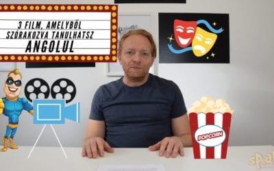 Filmajánló videó: 3+1 film, amivel szórakozva fejlesztheted angolod