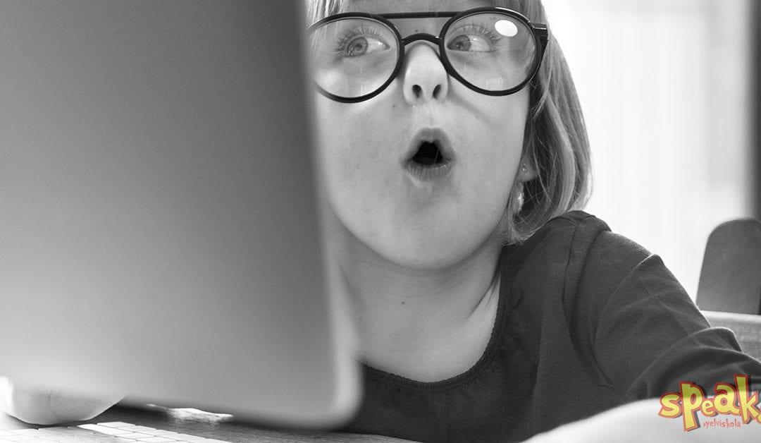 Ezért tudna egy 4 éves simán lekörözni az angoltanulásban – Speak! Nyelviskola Budapest