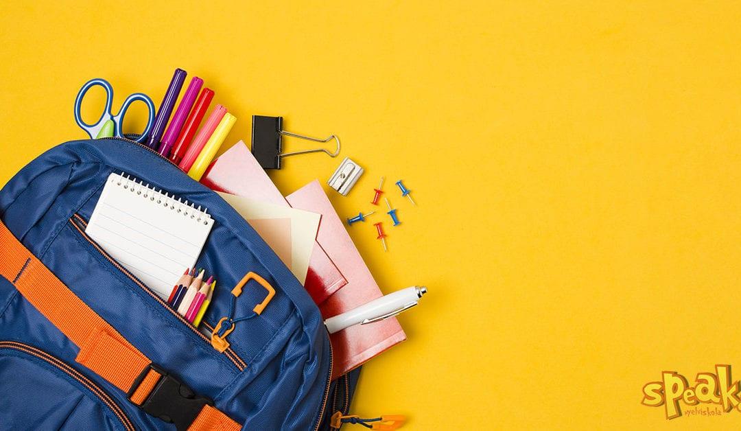 5 hasznos angol kifejezés az iskolakezdéshez