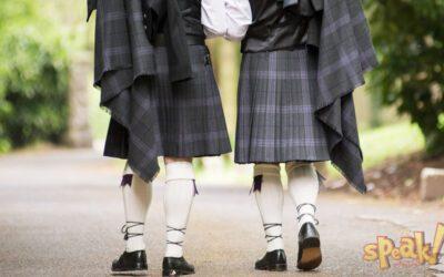 Honnan ered a skótok szoknyás viselete?